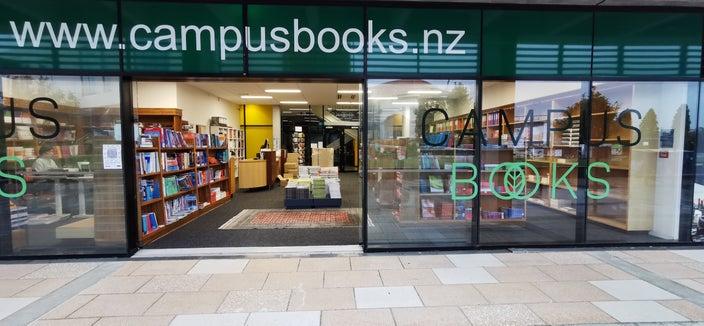 Campus Books at Massey University Albany